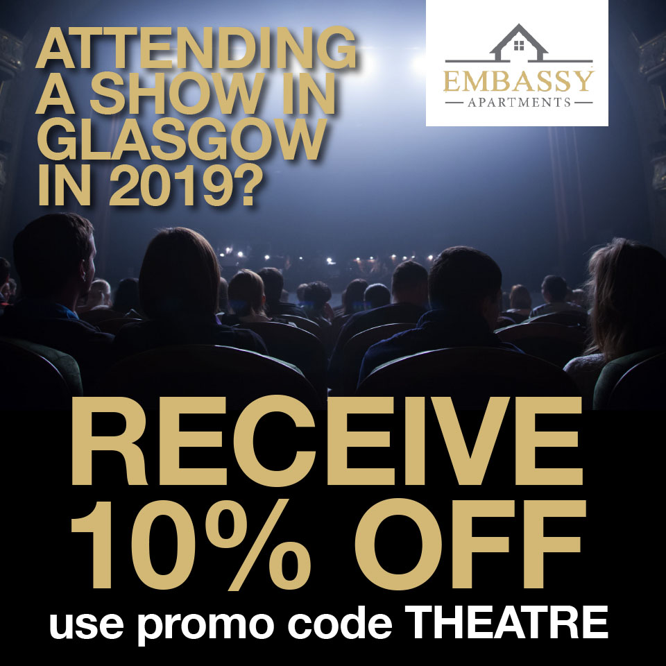 Theaterbesuch in Glasgow - 10% Rabatt