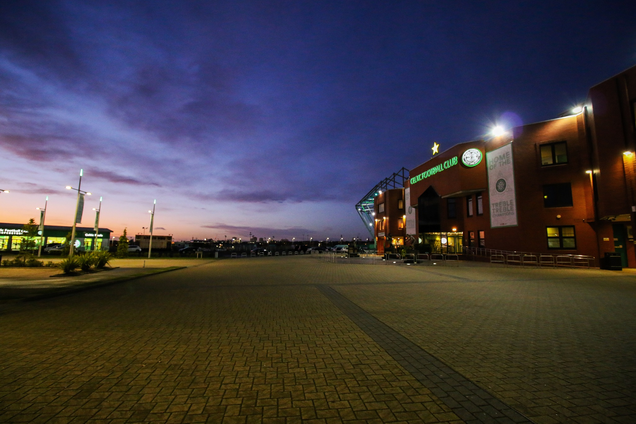Celtic Park at Night